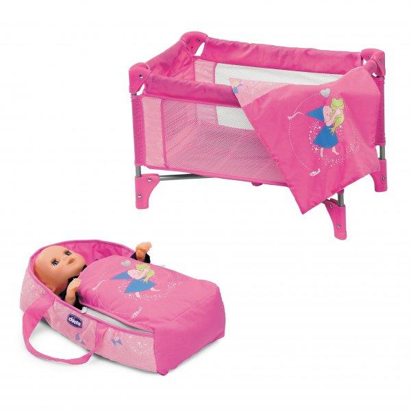 Кроватка для маленьких барби