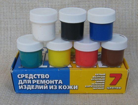 Как сделать белую краску для кожи
